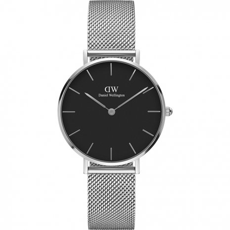 Orologio Daniel Wellington DW00100162 Petite Sterling Black