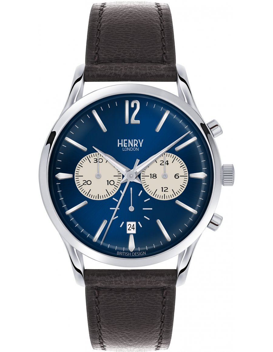 Orologio Henry London Knightsbridge Chronograph HL41-CS-0039